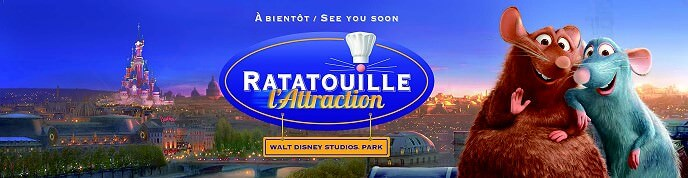 10. Juli 2014 - Ratatouille The Adventure