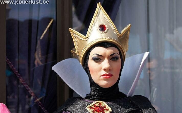 Die böse Königin im Disneyland Paris