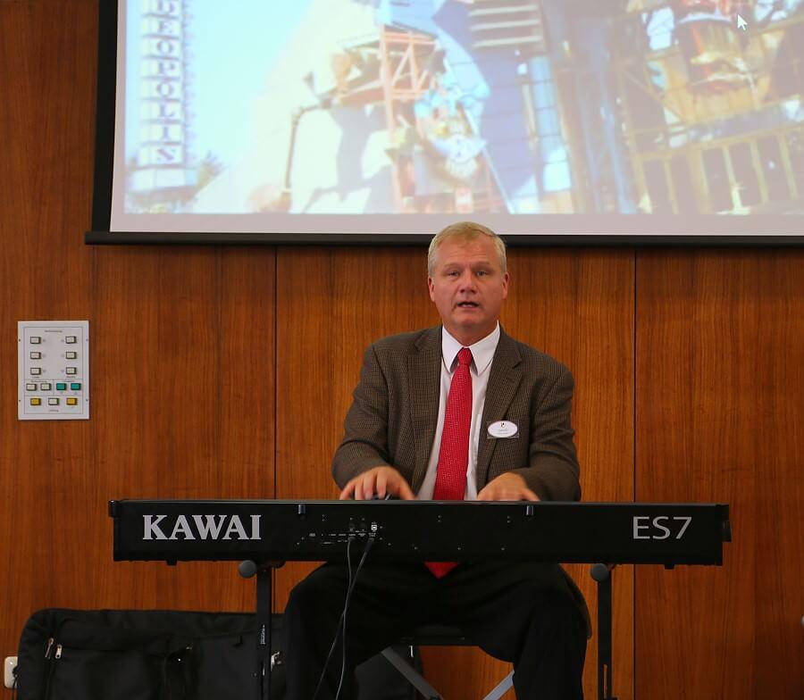David Tolley am Piano