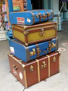 Koffer-Aufbewahrung im Disneyland