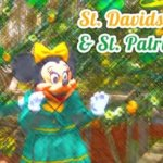 Saint David's Welsh Festival & St. Patrick's Day im Disneyland