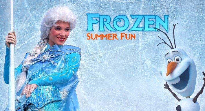 Frozen Summer Fun mit Anna und Elsa