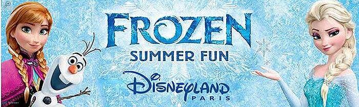 Frozen - Die Eiskönigin im Disneyland