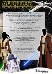 Casting Jedi Academy