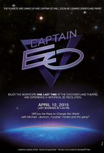 Letzte Aufführung Captain EO
