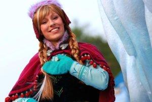 Prinzessin Anna im Disneyland