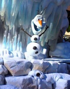 Olaf, der Schneemann aus Frozen