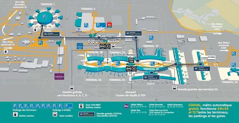 Hotel Aeroport Paris Charles De Gaulle Terminal