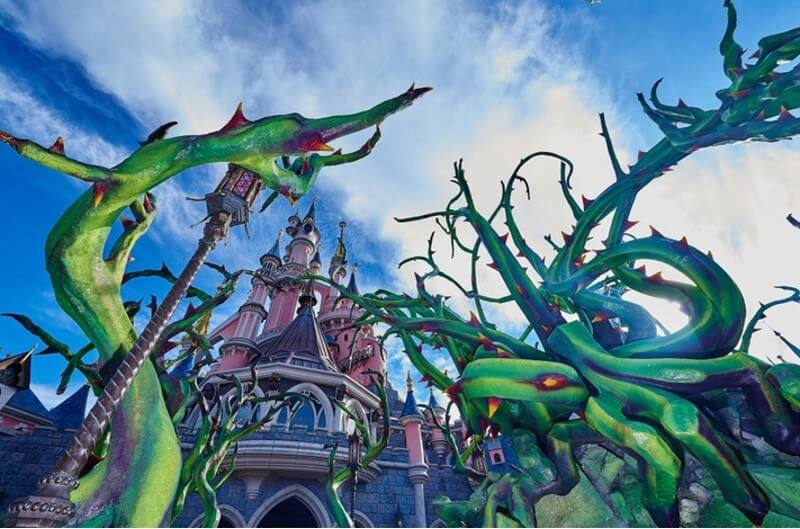 Halloweenstimmung im Disneyland Paris