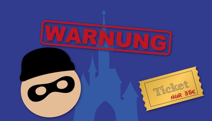 Betrüger verkaufen illegal erworbene Tickets für das Disneyland Paris
