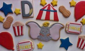 Das Bild zeigt die Dumbo Kekse in der Übersicht