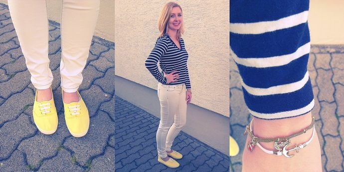 Outfit im Donald Duck Stil - Disneybound