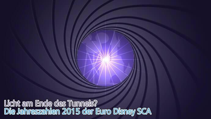 Die Ergebnis der Euro Disney SCA im Wirtschaftsjahr 2015 - Licht am Ende des Tunnels?