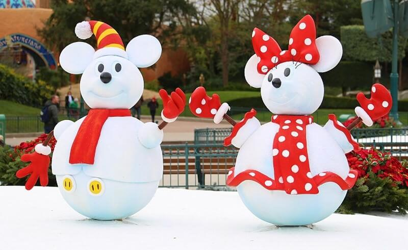 Die richtige Kleidung für den Winter im Disneyland