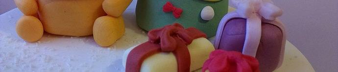 Weihnachtsspecial Torte mit Winnie Puuh und seinen Freunden