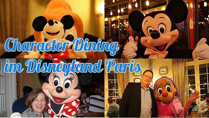 Character Dining im Disneyland Paris mit Mickey Mouse & Co