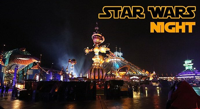 Teaser zu Disneyland Paris Star Wars Night / Le Soiree Star Wars
