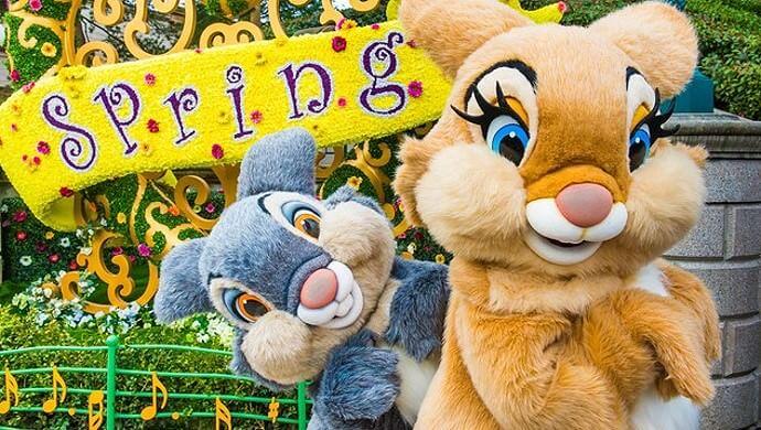 Triff Klopfer und seine Freunding Miss Bunny