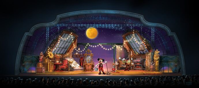 Neue Show im Disneyland: Mickey and the Magican