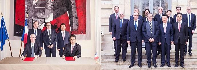 Unterzeichnung der Verträge zur Europa City