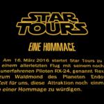 Last Flight to Endor - eine Hommage zum Abschied von Star Tours