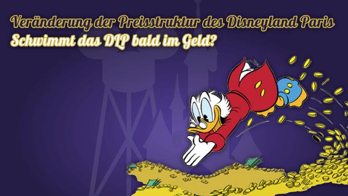 Preissstruktur des Disneyland ändert sicht