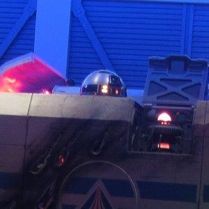 Auch R2-D2 als Navigationsdroide des StarSpeeder3000