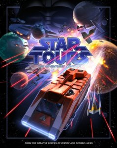 Star Tours The Adventures Continue Plakat