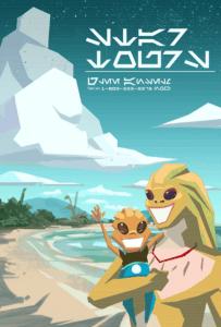 Star Tours Werbeplakat aus Star Wars: The Clone Wars