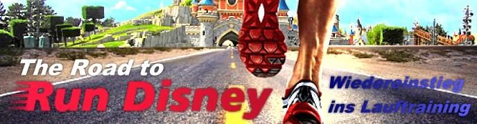 Road to Run Disney 2: Wiedereinstieg ins Lauftraining