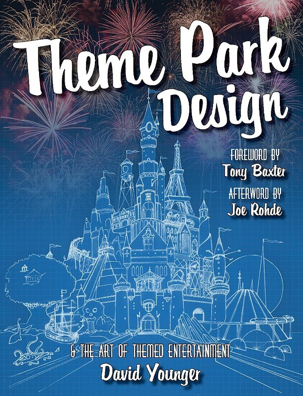 1. Preis Hardcover Theme Park Design and the Art of Themed Entertainment, signiert