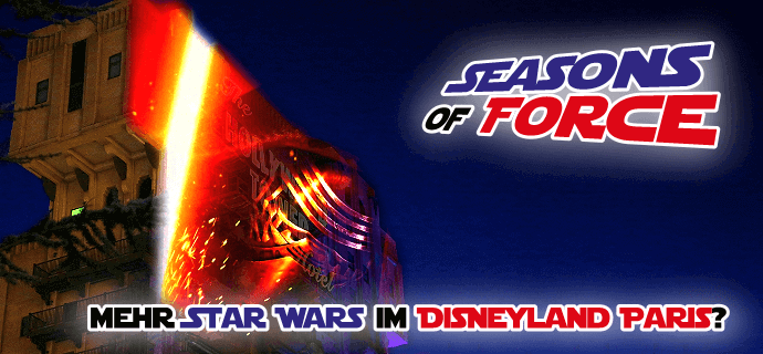 Seasons of Force im Disneyland Paris