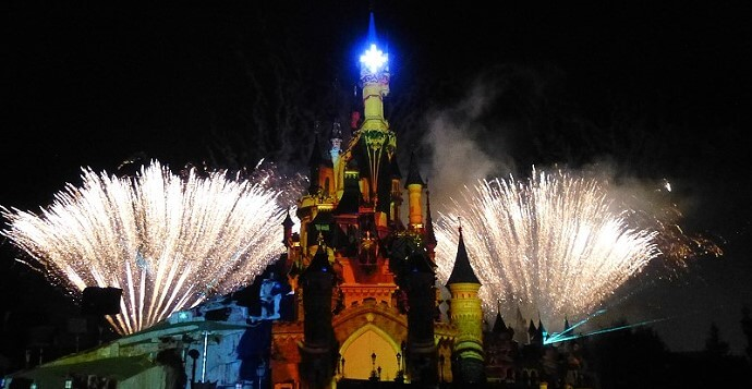 Abendshow Disney Dreams im Disneyland Paris