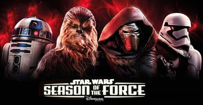 Highlight im Disneyland Paris: Star Wars Season of the Force