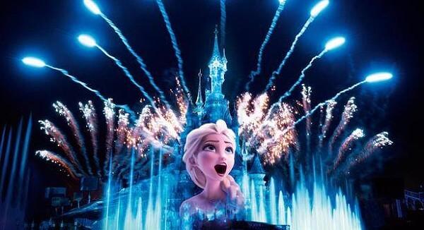 Disney Illuminations im Disneyland Paris
