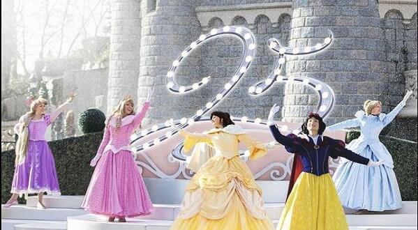 Neue Prinzessinnen-Show im Disneyland