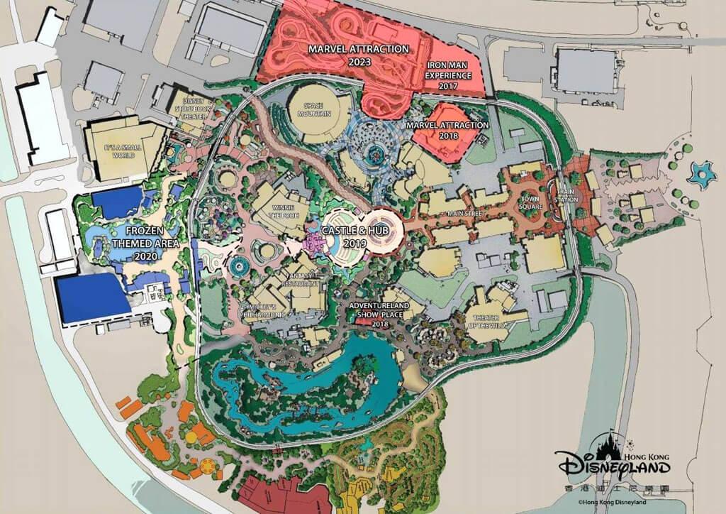 Ausbauplan für Hongkong Disneyland bis 2023