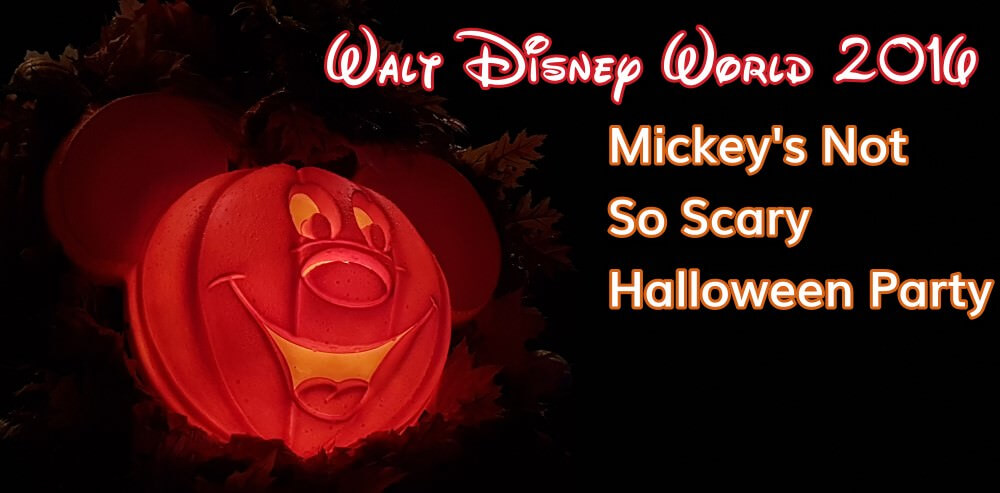 Disney World: Mickey's not so scary Halloween Party