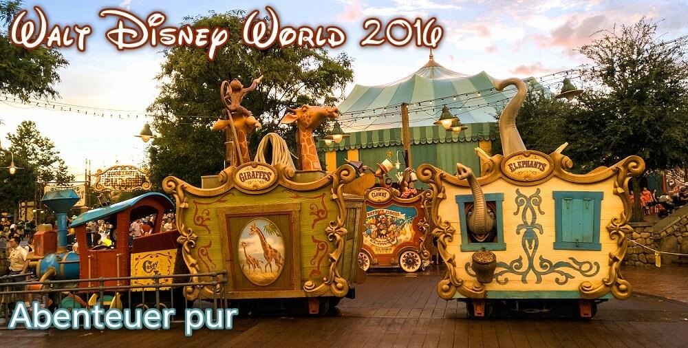 Walt Disney World Reisebericht mit Bildern