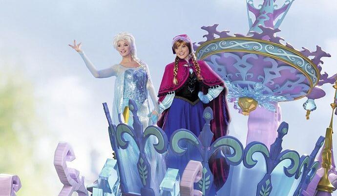 Disney Stars on Parade mit Die Eiskönigin
