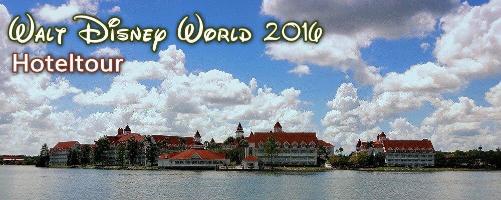 Tour durch die Disney Hotels in Walt Disney World