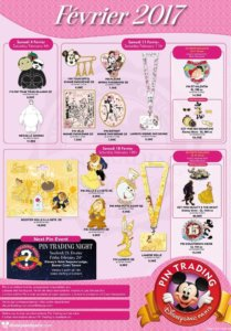 Disneyland Paris Pins Februar 2017