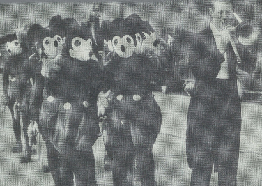 Mickey Mouse Parade Hollywood Boulevard