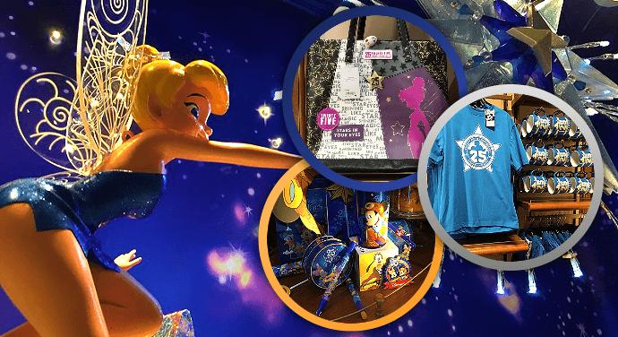Die Souvenirs des Disneyland Paris zum 25. Geburtstag