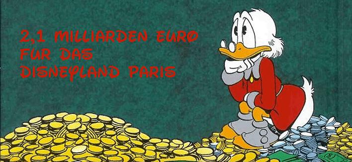 Disney Company investiert Milliardenbetrag in das Disneyland Paris