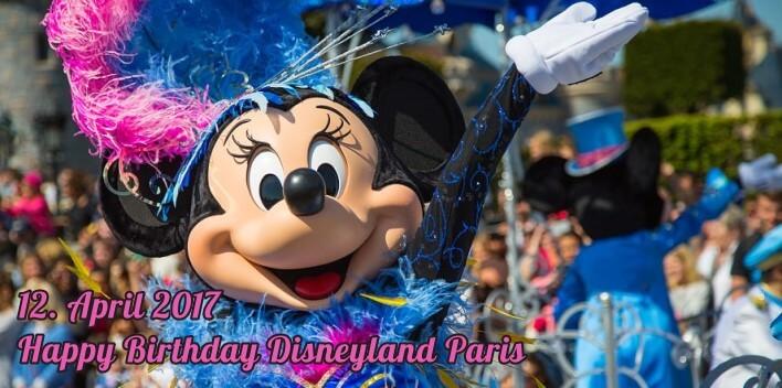 12. April 2017: Bericht zum 25. Geburtstag des Disneyland Paris