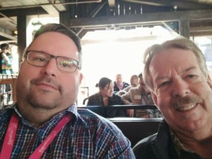 Mit Tony Baxter bei Big Thunder Mountain