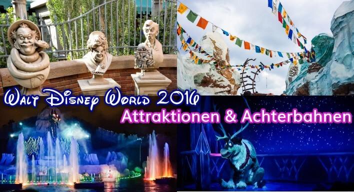 Disney World: Shows, Attraktionen und Achterbahnen
