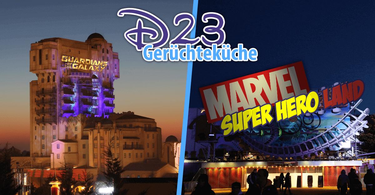 Gerüchte der D23 Expo rund um das Disneyland Paris