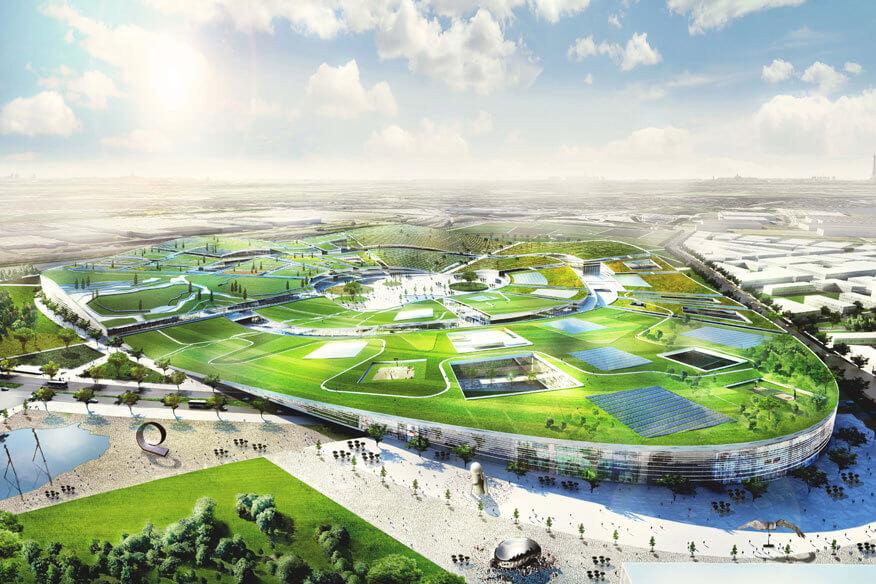 Concept Art zur Europa City von Wanda